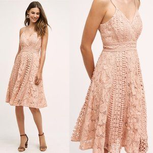 Anthropologie Astrid Lace Dress HD in Paris